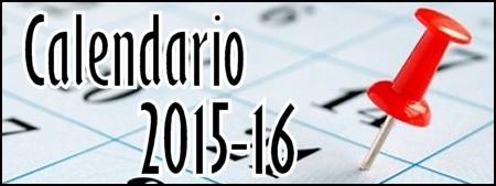 Calendario Escolar 15/16